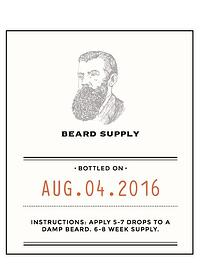 cosmetic-beard-oil-laminated-label