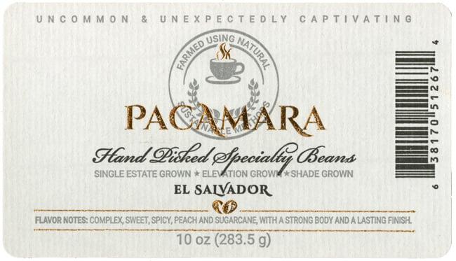pacamara-label
