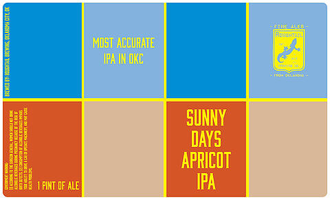 sunny-days-ipa-beer-label