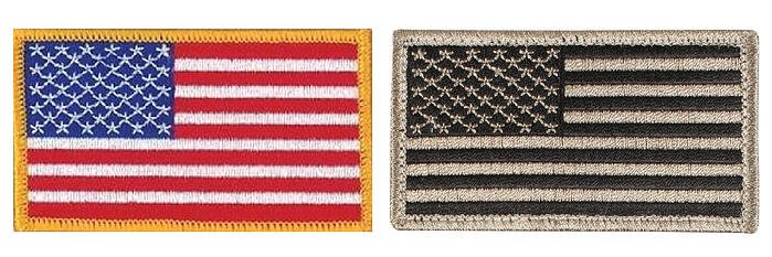us-flag-patches-both-full-color-and-bw