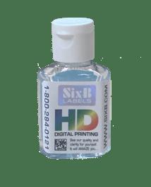 SixBLabels-promo-sanitizer-label-clear-barcode-refractive-bkg