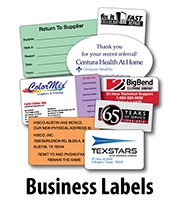 business-labels-text