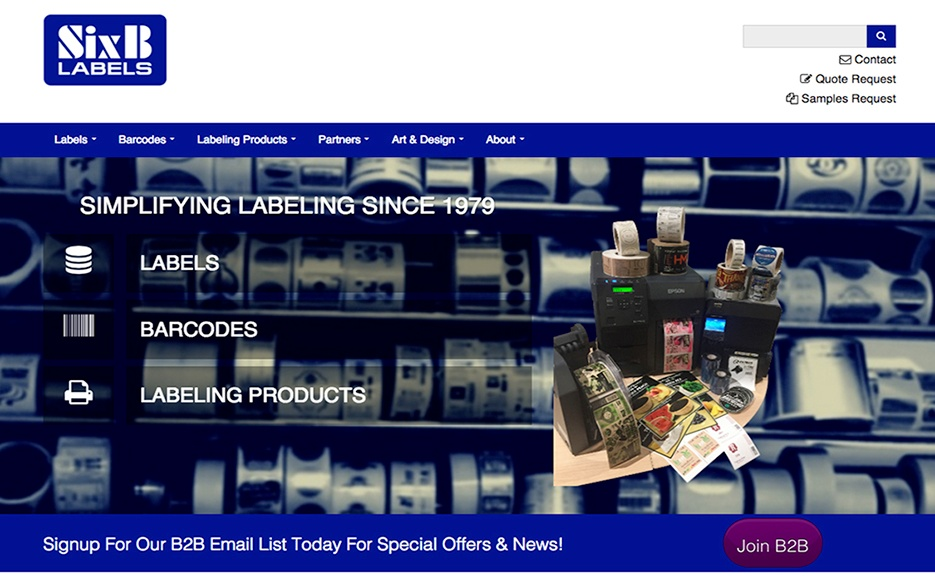 Introducing SixB Labels' Latest Platform